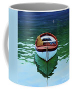 Coastal Wall Art, Poetic Light, Fishing Boat Paintings Coffee Mug