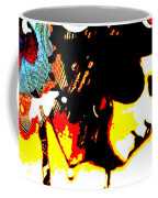 Poetic Peacock Coffee Mug
