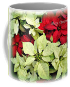 Poinsetta Mix Coffee Mug