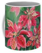 Poinsettia Magic Coffee Mug