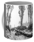 Point Betsie Lighthouse In Fog Coffee Mug