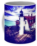 Point Betsie On Lake Michigan Coffee Mug