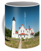 Point Iroquois Lighthouse Coffee Mug