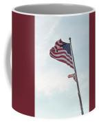 Point No Point American Flag Coffee Mug