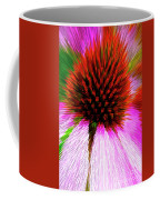 Pointed Flower Coffee Mug