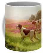 Pointers In A Landscape Coffee Mug