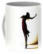 Poise In Silhouette Coffee Mug