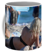 Poker At The Beach Coffee Mug