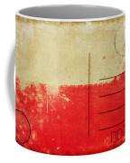 Poland Flag Postcard Coffee Mug