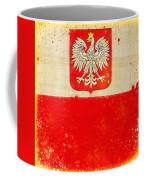 Poland Flag Coffee Mug by Setsiri Silapasuwanchai