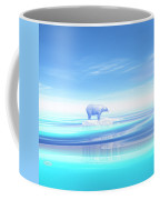 Polar Bear - 3d Render Coffee Mug