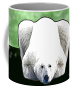 Polar Bear - Green Coffee Mug