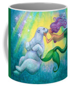 Polar Bear Kiss Coffee Mug