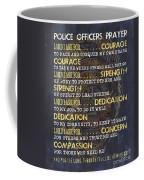Police Officers Prayer Coffee Mug