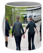 Police Pants Coffee Mug