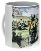 Polio Cartoon, 1957 Coffee Mug
