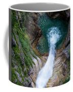 Pollat River Waterfall - Neuschwanstein Castle - Germany Coffee Mug