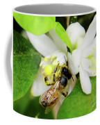 Pollen - Covered - Bee Coffee Mug