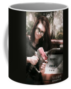 Pollution Through Consumption Coffee Mug