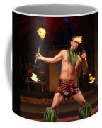 Polynesian Fire Dancing Coffee Mug