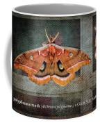 Polyphemus Moth Coffee Mug