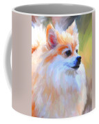 Pomeranian Portrait Coffee Mug