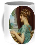 Pompeian Lady Coffee Mug