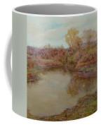 Pond In Early Autumn Coffee Mug