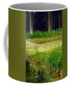 Pond Landscape Print Coffee Mug