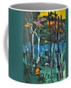 Pond Near Fourth Lake Coffee Mug