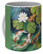 Pond Swimmers Koi Coffee Mug