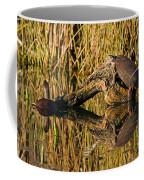 Pond Turtles Coffee Mug