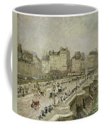 Pont Neuf Snow Effect Coffee Mug