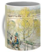 Pont Royal Paris Coffee Mug by Childe Hassam