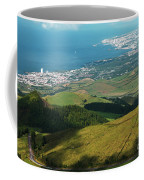 Ponta Delgada And Lagoa Coffee Mug