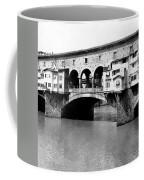 Ponte Vicchio Bridge In Florence Italy - C 1905 Coffee Mug