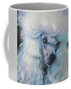 Poodle White Standard Coffee Mug