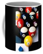 Pool Balls On Tiles Coffee Mug by Garry Gay