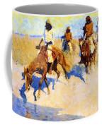 Pool In The Desert 1907 Coffee Mug