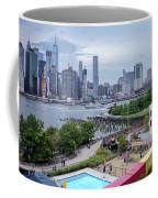 Pool With A View, Brooklyn, New York #130706 Coffee Mug