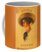 Poole Pianos Retro Coffee Mug