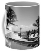 Poolside B-w Coffee Mug