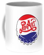 Pop Art Bottle Cap Coffee Mug