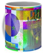 Pop-art Colorized One Hundred Euro Bill Coffee Mug