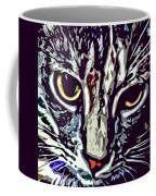 Face Of The Feline Coffee Mug