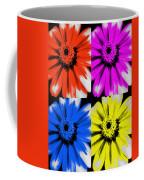 Pop Art Petals Coffee Mug