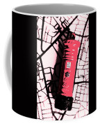 Pop Art Pillar Post Box Coffee Mug