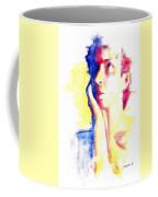 Pop Art Woman Portrait Coffee Mug