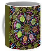 Pop Mandala Golden Coffee Mug