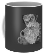 Popcorn Sutton Black And White Transparent - T-shirts Coffee Mug